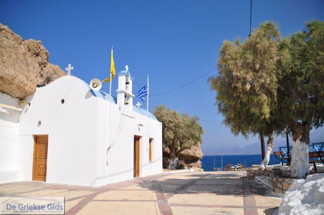 Kerkje aan zee op Kreta Chersonissos
